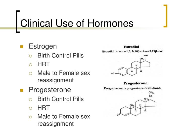 Clinical Use of Hormones