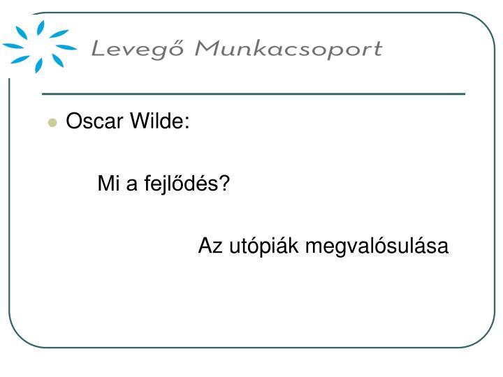Oscar Wilde: