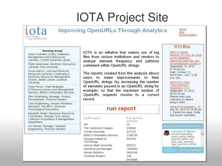 iota dating site Iota was the hot topic of yesterday, for most people it came out of nowhere and got into 6th spot (today 7) by by kingscrown.