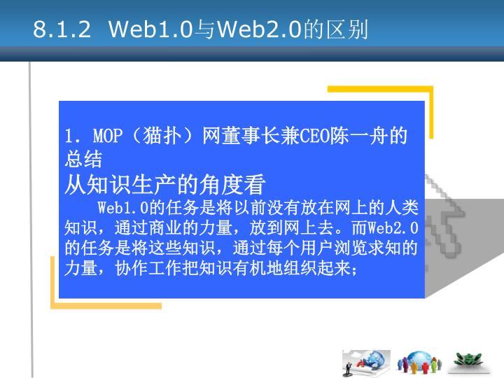 8.1.2  Web1.0