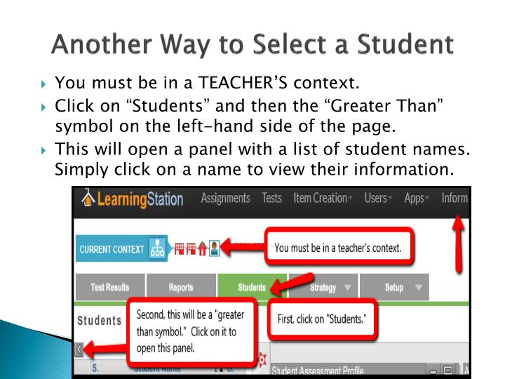 Another Way to Select a Student