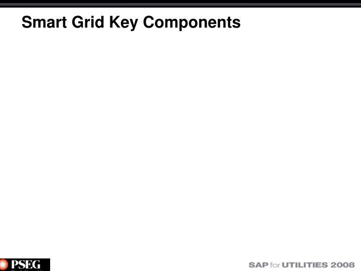 Smart Grid Key Components
