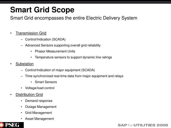 Smart Grid Scope