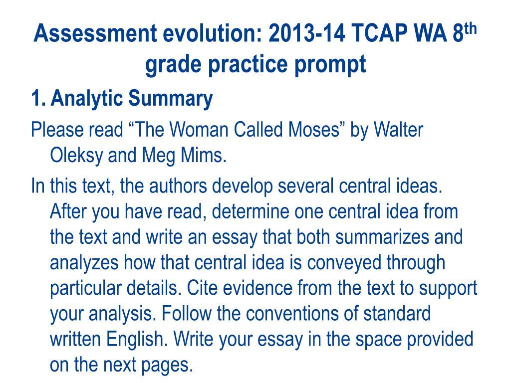 tcap writing assessment rubric 2013 calendar