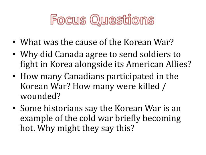 what were the causes of the korean war