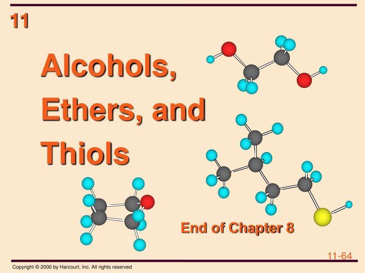 Alcohols,