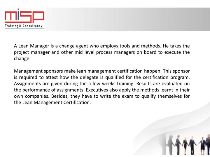 PPT - Lean Management Certification - Scope and Prospects PowerPoint ...
