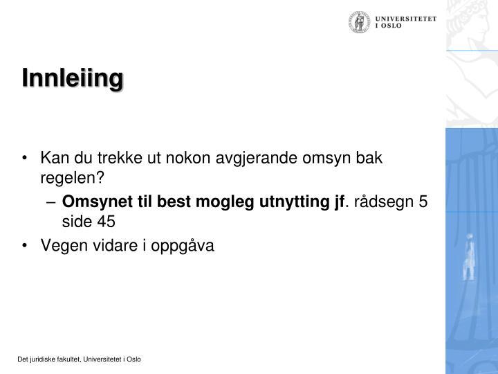 Innleiing