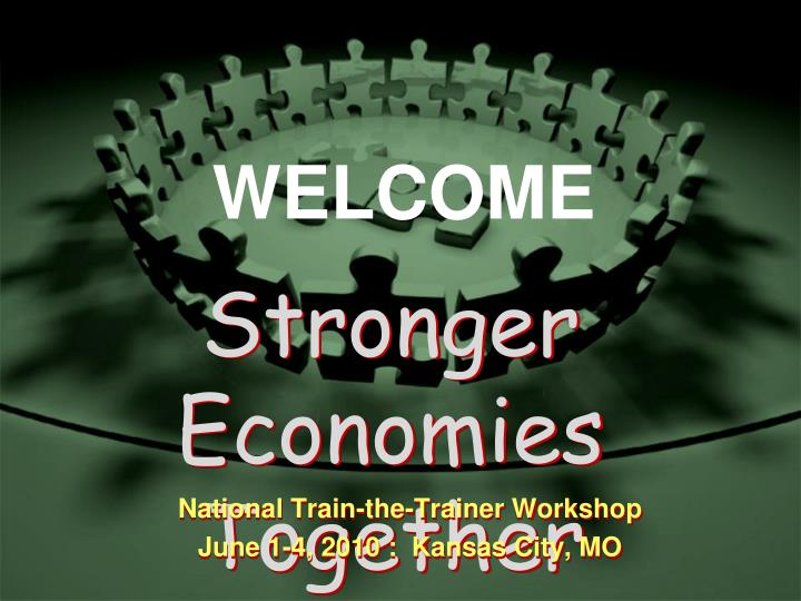 stronger economies together n.