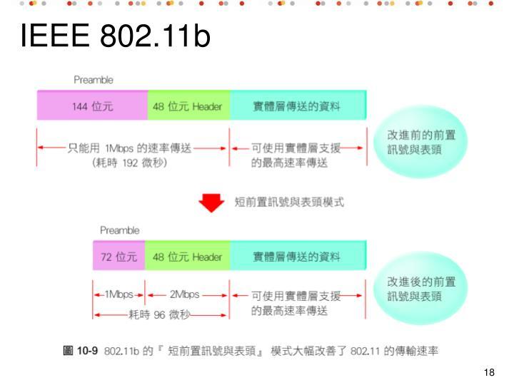 IEEE 802.11b