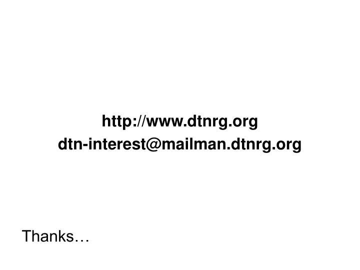 http://www.dtnrg.org