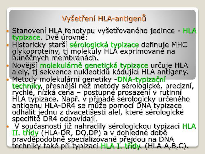 Vy et en hla antigen