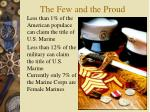 the few and the proud