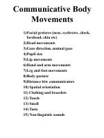 communicative body movements