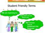 student friendly terms1