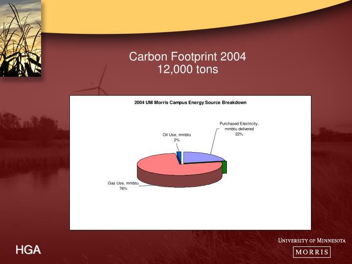 Carbon Footprint 2004
