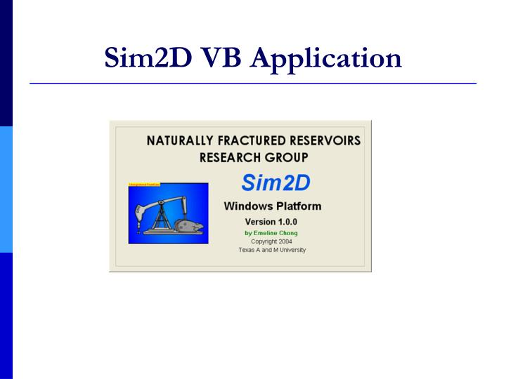 Sim2D VB Application
