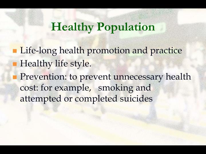 Healthy Population