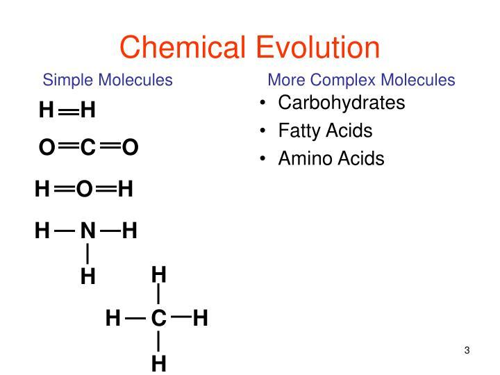 Chemical evolution