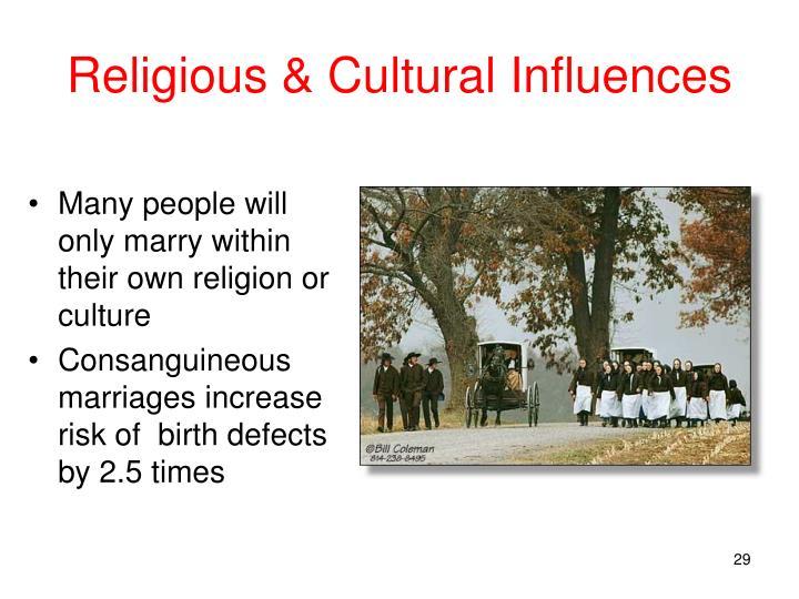 Religious & Cultural Influences