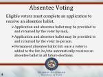 absentee voting1