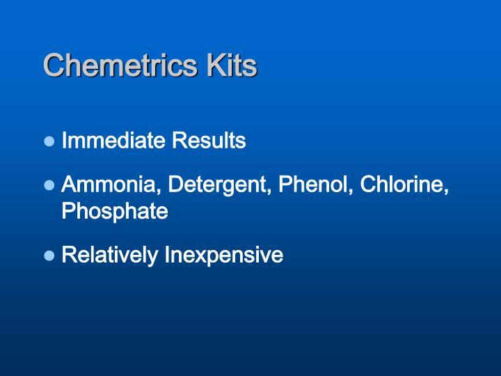 Chemetrics Kits