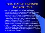 qualitative findings and analysis2