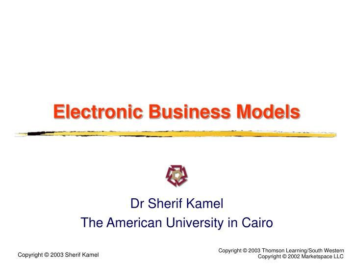 electronic business models n.