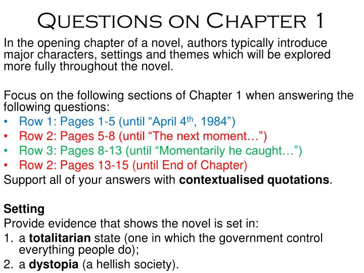 questions on chapter 1 n.