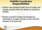 taadra coordinator responsibilities1