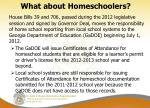 what about homeschoolers