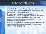 generation xers
