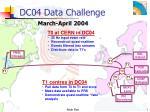dc04 data challenge