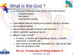 what is the grid
