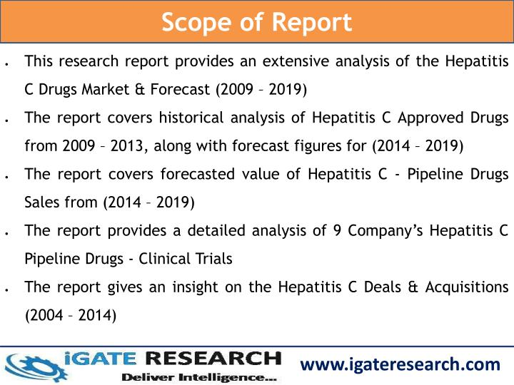 Scope of Report
