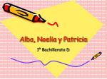 alba noelia y patricia