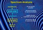 spectrum analysis1
