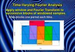 time varying fourier analysis5