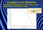 trumpet s first harmonic