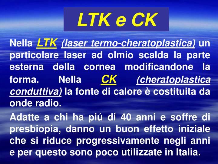 LTK e CK