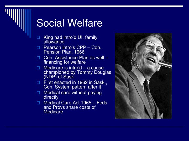 social welfare in canada essay Israel's welfare state today is more similar to the liberal model, but  us,  canada, and australia – but includes a few conservative and social.