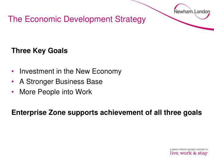 The Economic Development Strategy