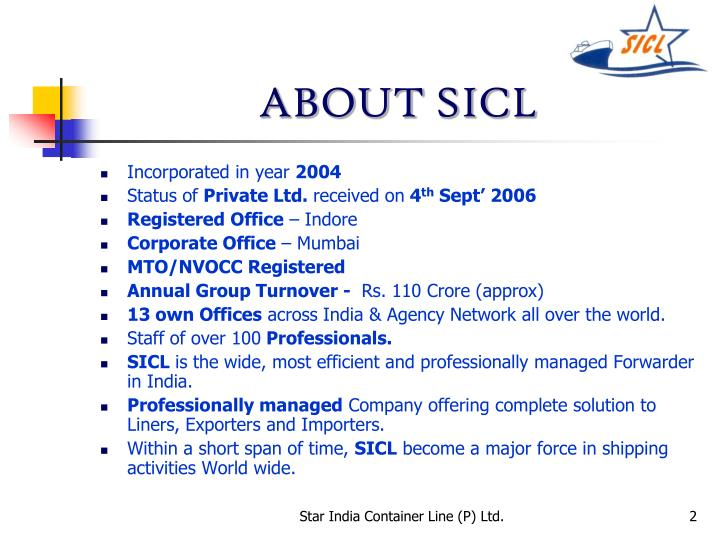 About sicl