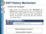 gwt history mechanism