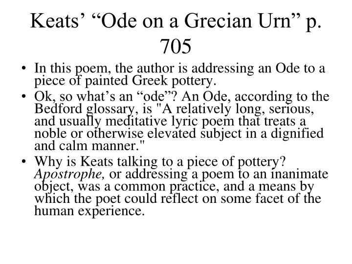 ode on a grecian urn essay questions Ode on a grecian urn essay john keats this study guide consists of approximately 44 pages of chapter summaries, quotes, character analysis, themes, and more - everything you need to sharpen your knowledge of ode on a grecian urn.