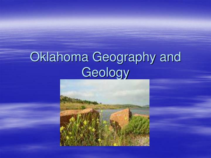 oklahoma geography and geology