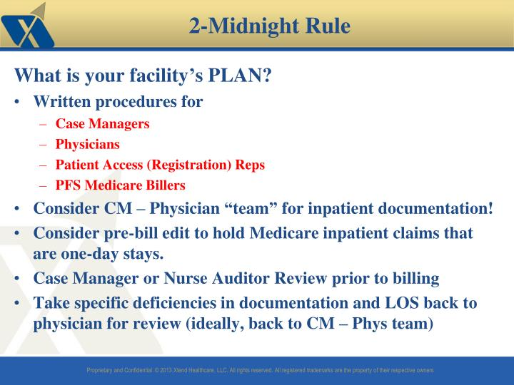 What is your facility's PLAN?
