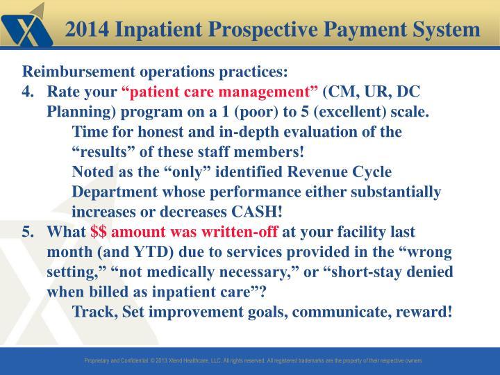 2014 Inpatient Prospective Payment System