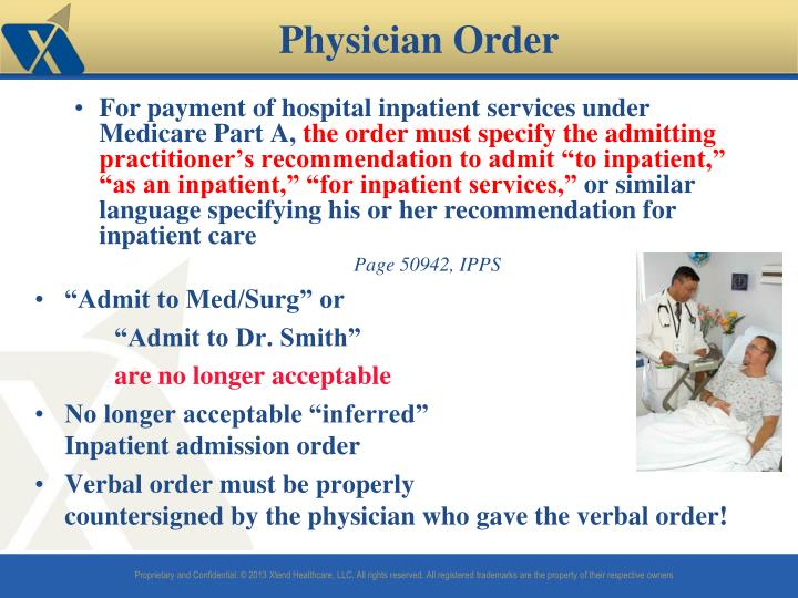 For payment of hospital inpatient services under Medicare Part A,