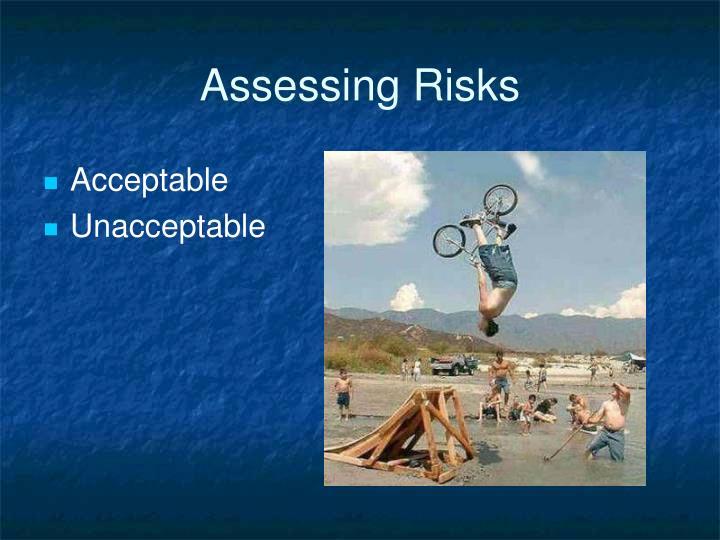 Assessing Risks